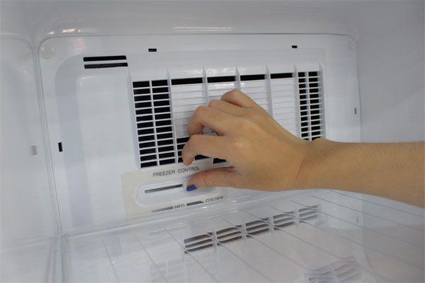 Điều chỉnh nhiệt độ hợp lý cho tủ