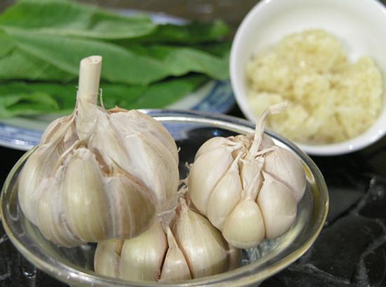 Món ăn từ tỏi hỗ trợ bệnh viêm mũi dị ứng