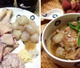 Vịt om vải - Món ăn ngon cho bữa cơm ngày hè