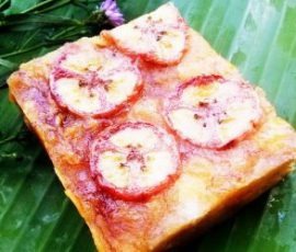 Bánh chuối Lục Yên món quà quê dân dã