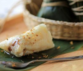 Bánh gạo nhân táo tàu độc đáo và lạ miệng