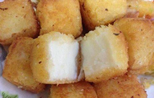 Bánh sữa tươi lăn dừa mới lạ thanh mát