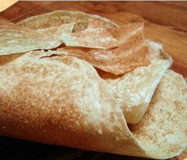 Bánh tráng Mỹ Lồng đặc sản của quê hương Bến Tre