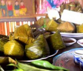 Bánh vắt vai của người dân tộc Cao Lan Bắc Giang