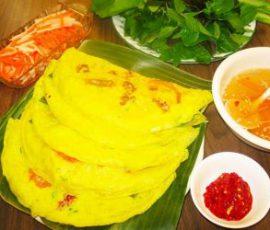 Bánh xèo Long Hải món ăn ngon không thể bỏ qua khi đến Vũng Tàu