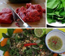Bò bảy món núi Sam An Giang độc đáo và hấp dẫn