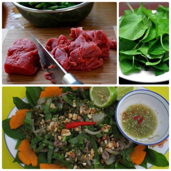 Bò bảy món núi Sam An Giang