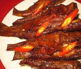 Cá bống kho riềng Đắc Lắc món ăn dân dã đậm đà