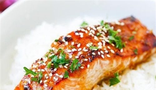 Cá hồi nướng gừng tỏi thơm ngon ngất ngây