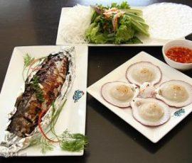 Món cá nục nướng ớt theo kiểu Hàn Quốc