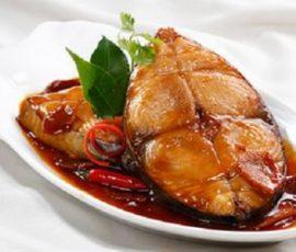Cá thu rim nước dừa đậm đà đưa cơm