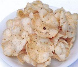 Bánh phồng cá linh đặc sản An Giang
