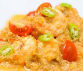 Cà ri tôm kem tươi - món ăn ngon của Ấn Độ