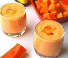 Sinh tố đu đủ sữa chua cực tốt và bổ dưỡng cho chị em