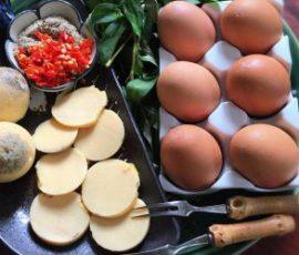 Trứng gà nướng của Thái Lan ngon tuyệt ngay tại nhà