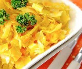 Cà ri cải bắp ngon mà lạ miệng cho ngày ăn chay