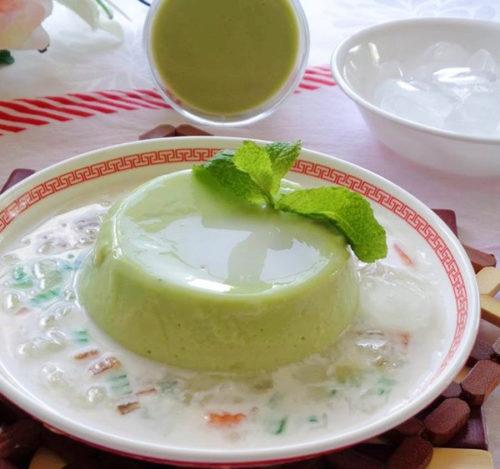 Chè bơ nước cốt dừa ngọt thanh béo mịn