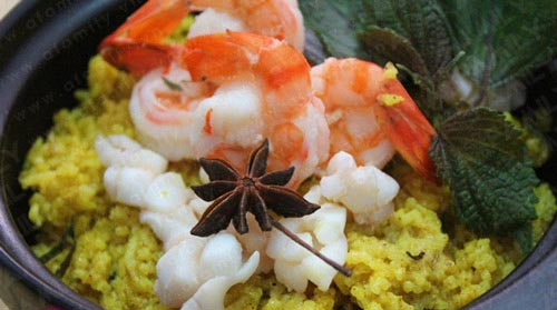 Cơm nị – cà púa nét ẩm thực của người Chăm An Giang