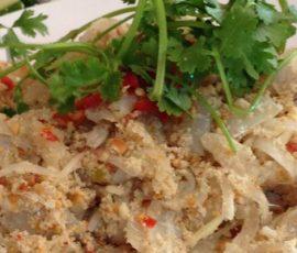 Gỏi cá mai đặc sản của thành phố biển Vũng Tàu