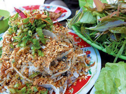 Gỏi cá Biên Hòa - Món đặc sản Đồng Nai