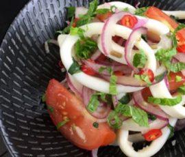 Gỏi mực chua ngọt chống ngán cho ngày hè