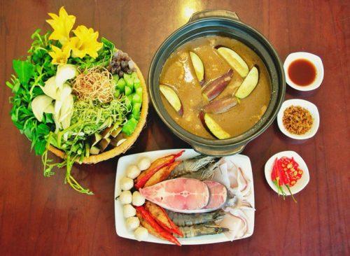 Lẩu mắm U Minh món đặc sản dân dã