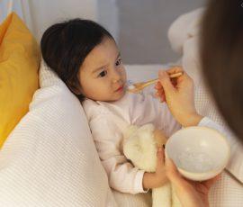 Món cháo hạ nhiệt cho bé khi bị ốm