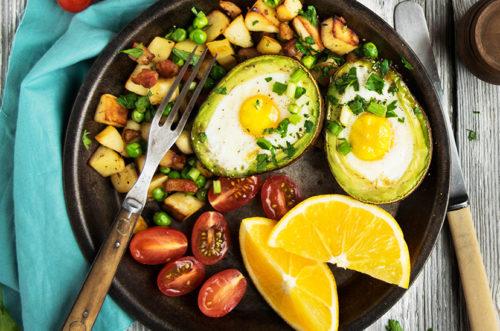 Trứng nướng bơ tươi cung cấp năng lượng cho bữa sáng
