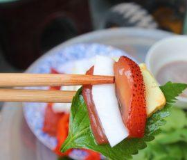 Nộm sứa đỏ món ăn ngon bổ dưỡng