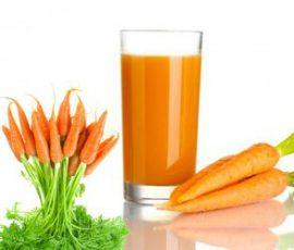 Sinh tố cà rốt giải nhiệt cho ngày hè nắng nóng