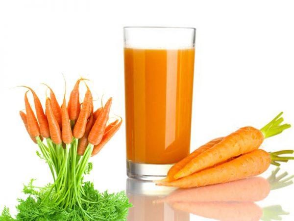 Sinh tố cà rốt thanh mát giải nhiệt