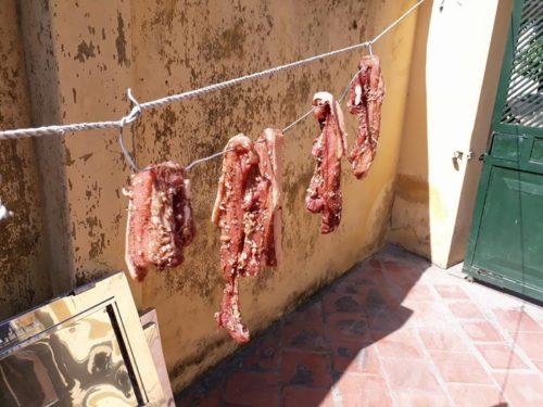 Thịt ba chỉ một nắng