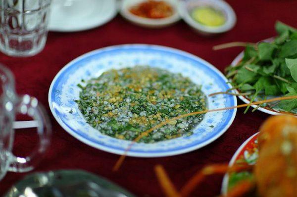 Tiết canh tôm hùm món đặc sản độc đáo của Vũng Tàu