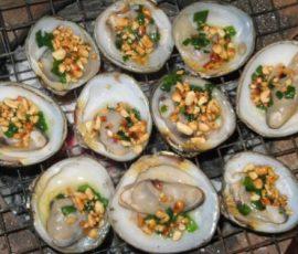 Vọp nướng chấm muối tiêu món đặc sản khi đến Cà Mau