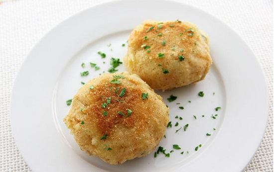 Món bánh cá hồi với khoai tây nghiền ngon bổ dưỡng