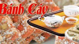 Bánh cáy làng Nguyễn món đặc sản tiến vua