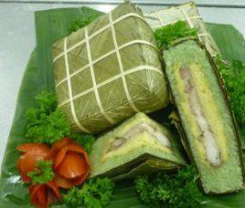 Bánh chưng Bờ Đậu Thái Nguyên ngon và độc đáo