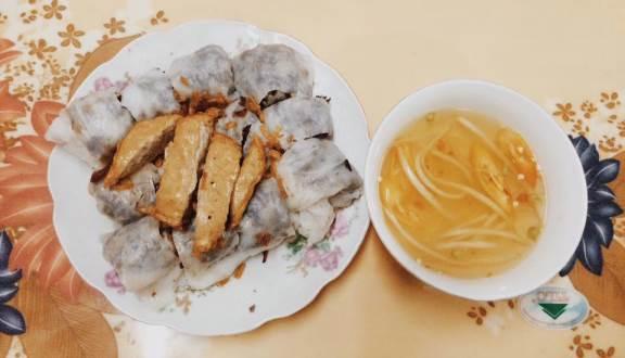 Bánh cuốn bà Thấu Hải Dương