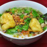 Bánh đúc nóng Hà Nội – món quà quê dân dã