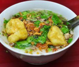 Bánh đúc nóng Hà Nội