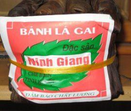 Bánh gai Ninh Giang Hải Dương thứ quà quê bình dị