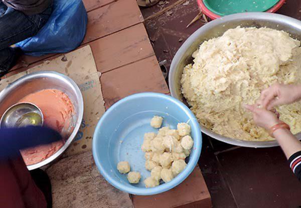 Cách làm món bánh gai Ninh Giang
