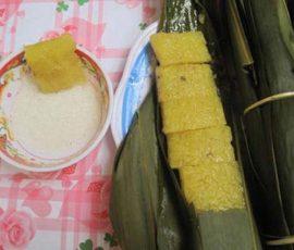 Bánh Nẳng món đặc sản của Vĩnh Phúc