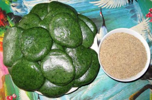 Bánh ngải Thái Nguyên đặc sản dân dã của người Tày
