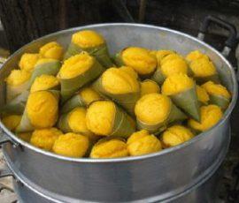 Bánh nghệ Thái Bình món đặc sản của quê hương lúa