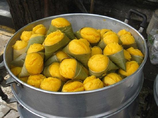 Bánh nghệ Thái Bình