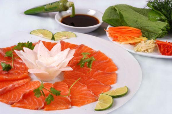 Món ăn ngon từ cá hồi Sapa Lào Cai