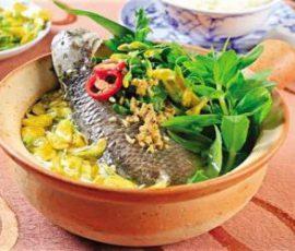 Cá rô Tổng Trường Ninh Bình món đặc sản tiến vua