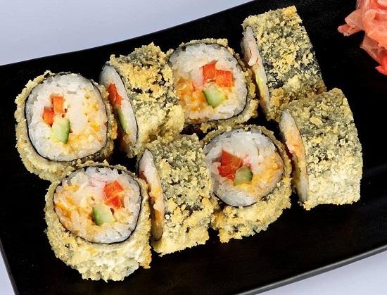 Sushi chiên giòn
