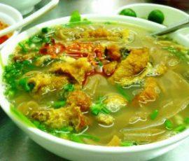Canh cá Quỳnh Côi dân dã đậm vị quê hương